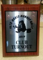 2019 44th Brass Monkey Club Turnout